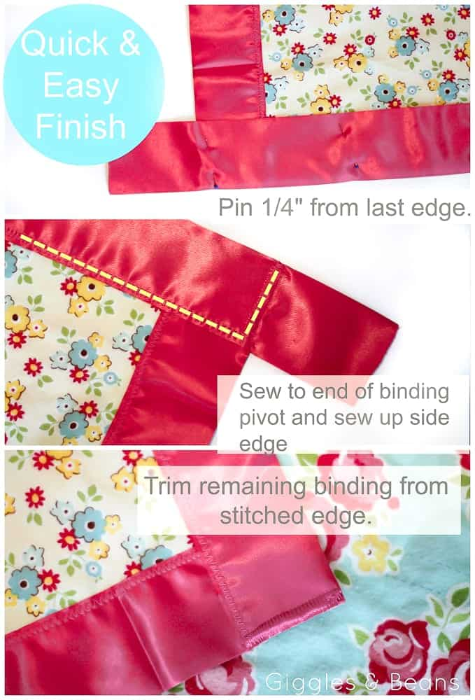 how-to-finish-blanket-binding-corner