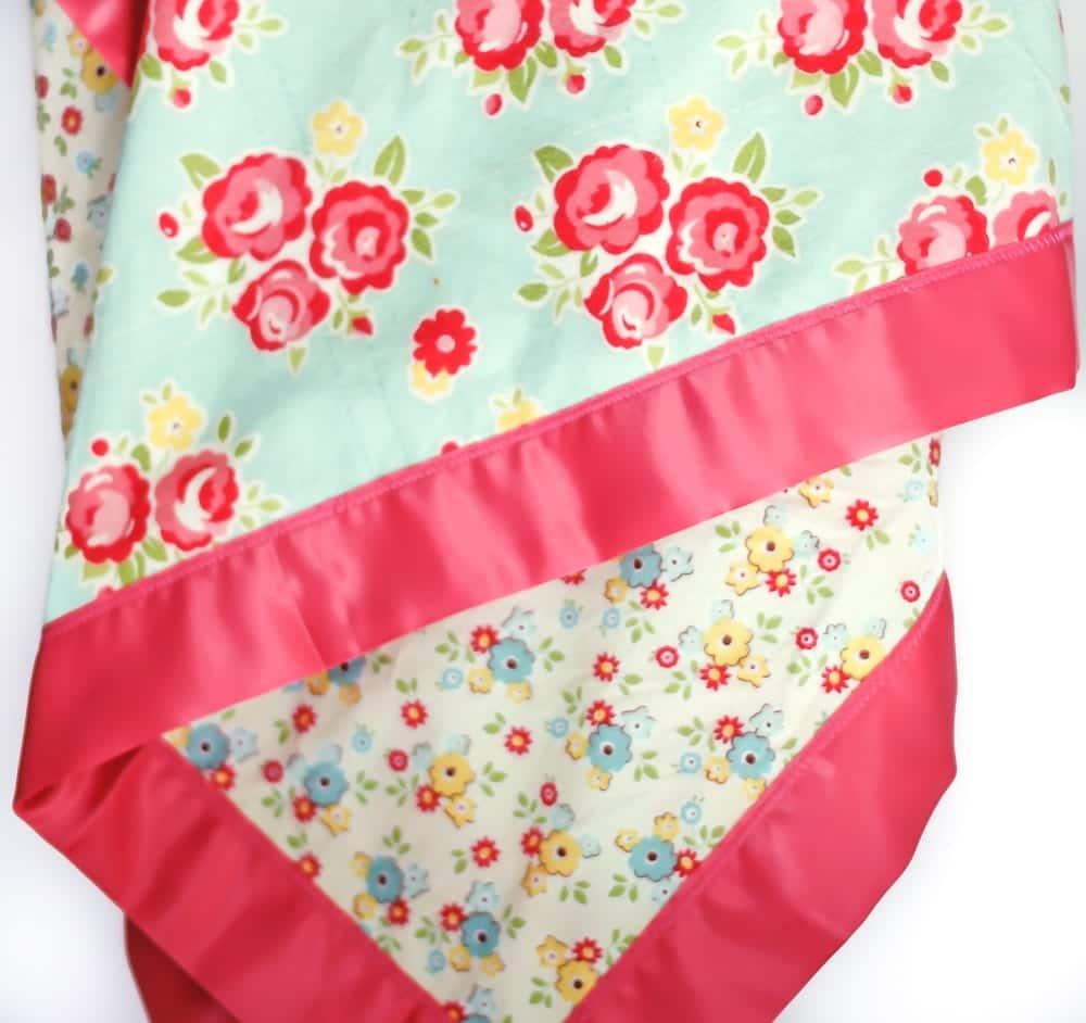 How To Sew Blanket Binding Tutorial Easy DIY Baby Blanket
