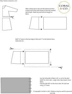 derby style t-shirt dress tutorial 2