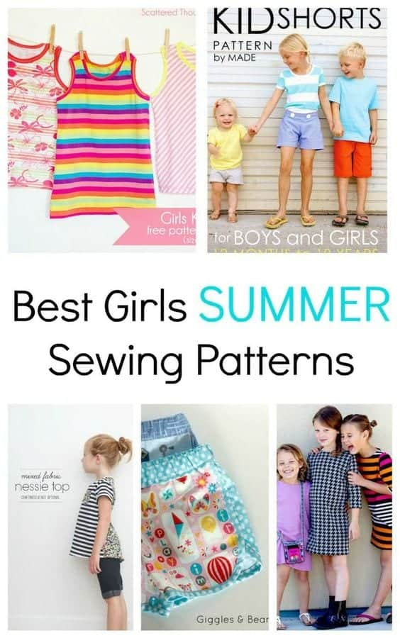 best-girls-summer-sewing-patterns
