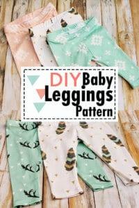 free baby leggings sewing pattern