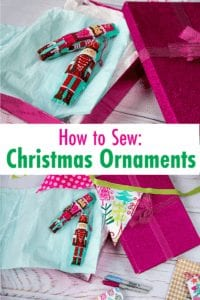 how to sew christmas ornaments