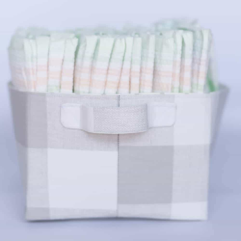 how-to-make-a-fabric-diaper-caddy