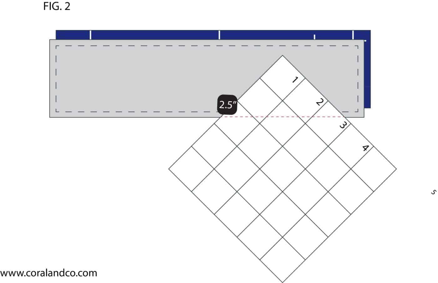 half-square-triangle-tube-method