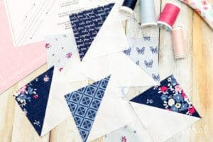 quilting-with-half-square-triangle-paper