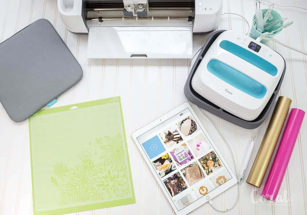 use-ipad-with-cricut-maker