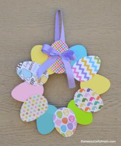 paper-easter-egg-wreath