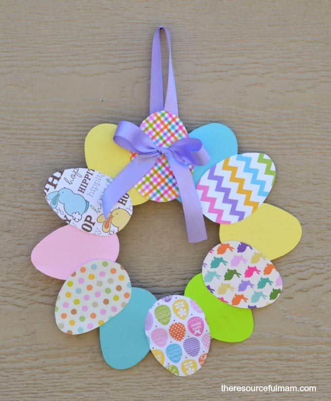 paper-easter-egg-wreath