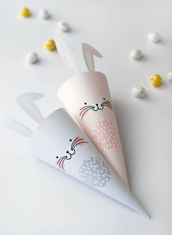 easter-bunny-treat-cone