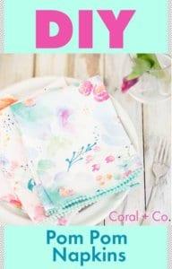 diy-mothers-day-pom-pom-trim-napkins