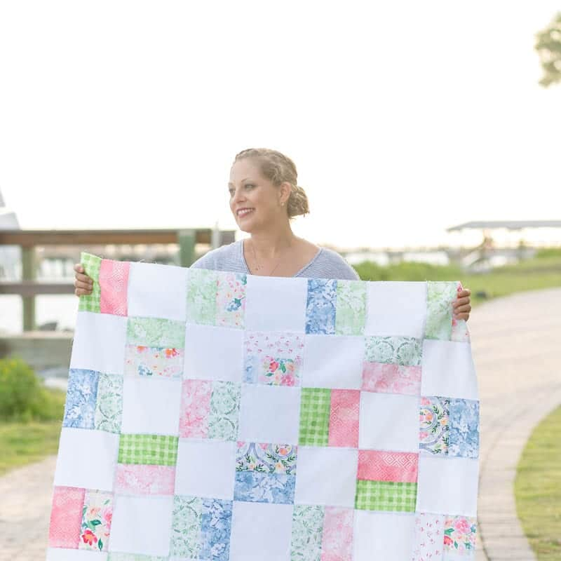 Free Baby Quilt Pattern For Beginners Baby Girl Quilt Pattern