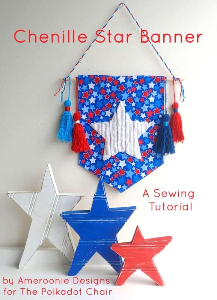 chenille-star-banner-tutorial-polka-dot-chair