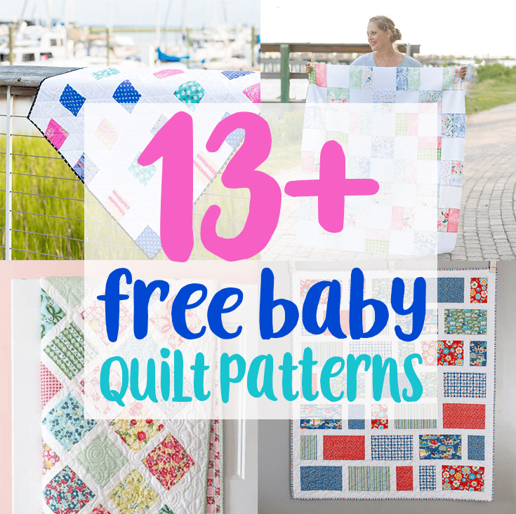free baby quilt patterns 13+ Free Baby Quilt Patterns to Sew   Charming Baby Quilt Patterns free baby quilt patterns
