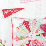 how to make a dresden plate pillow