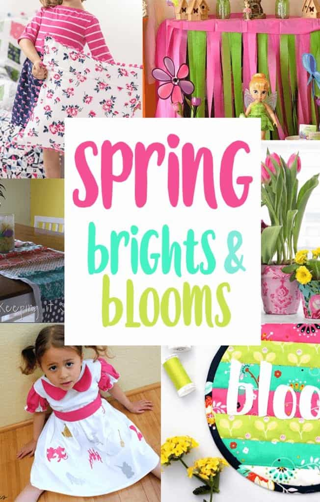 spring brights and blooms diy inspiration