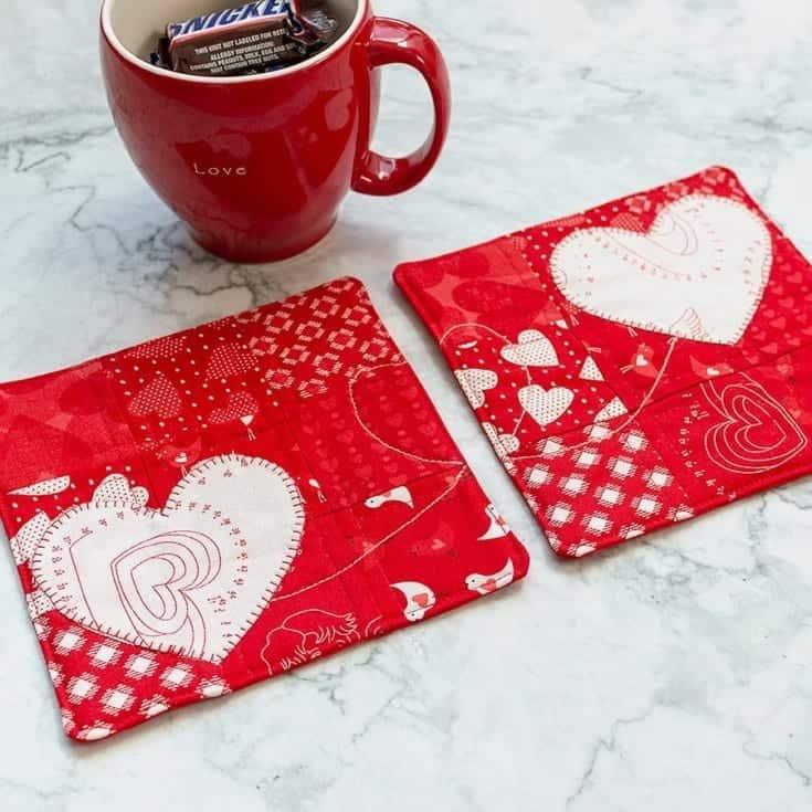 Tea Time with Friends – BFF Mug Rugs Tutorial