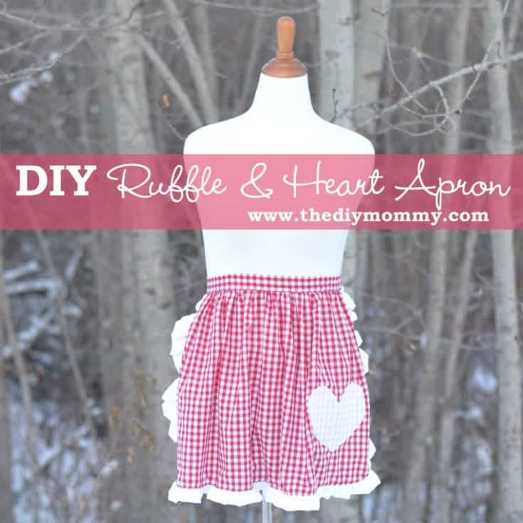 Sew a Ruffled Apron with a Heart Applique
