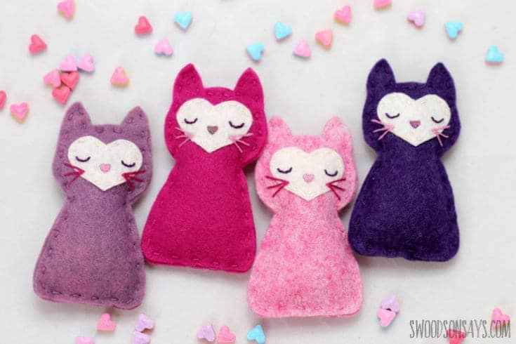 Valentine's Day Stuffed Animal to Sew For Kids