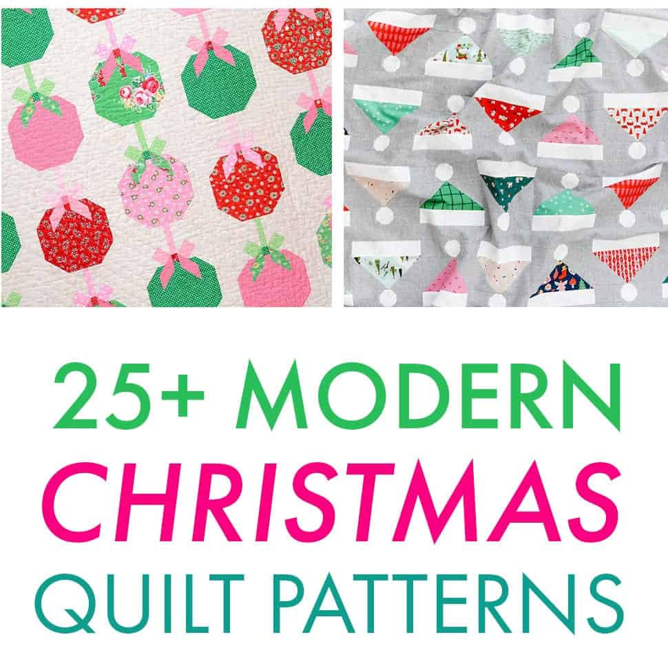 25 Jolly Christmas Quilt Patterns To Sew Coral Co
